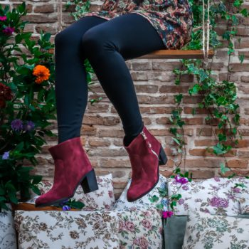 Bordeaux Ankle Boots